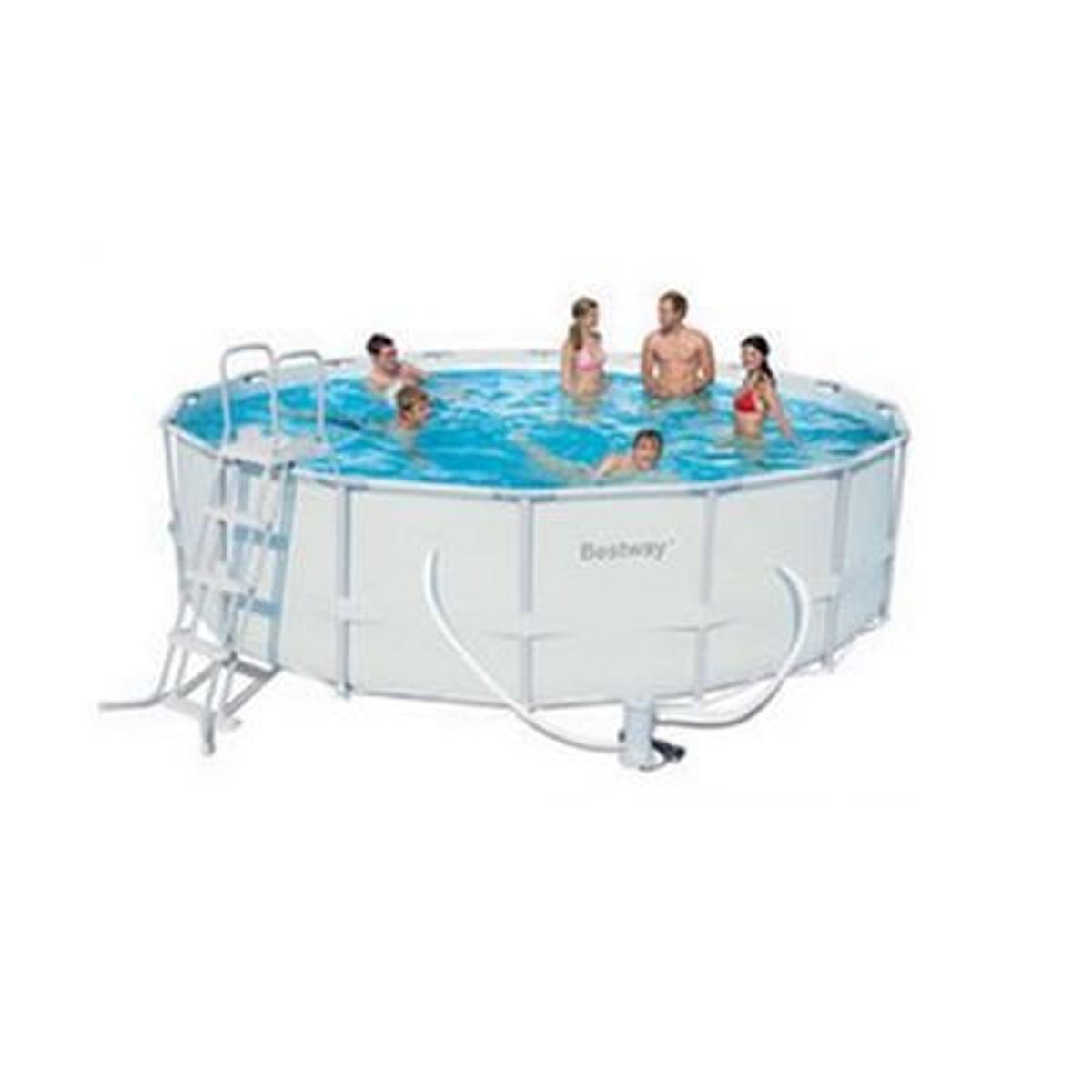 piscine power steel frame tubulaire 404x201x100cm vendu. Black Bedroom Furniture Sets. Home Design Ideas