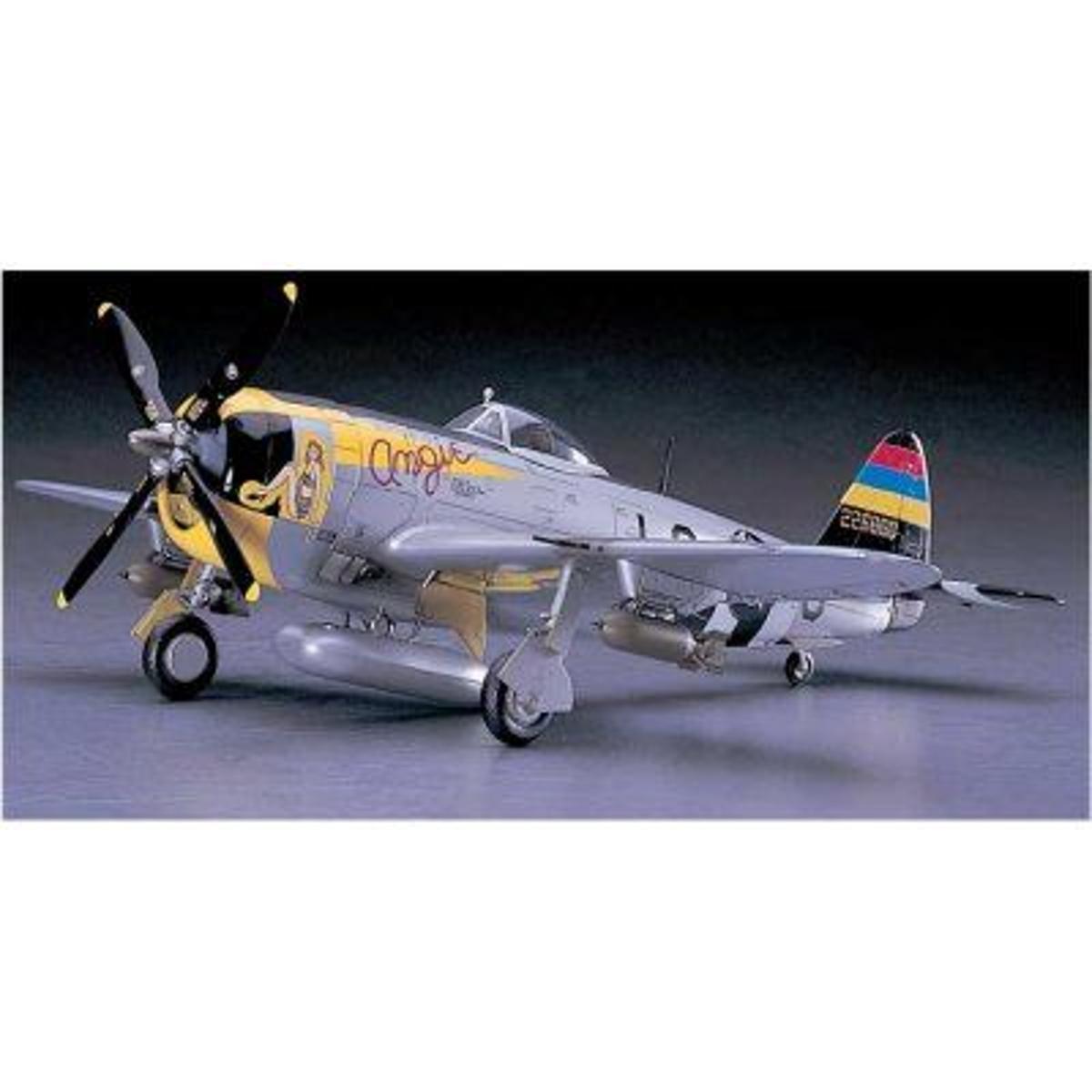 Maquette avion: P-47D-25 Thunderbolt