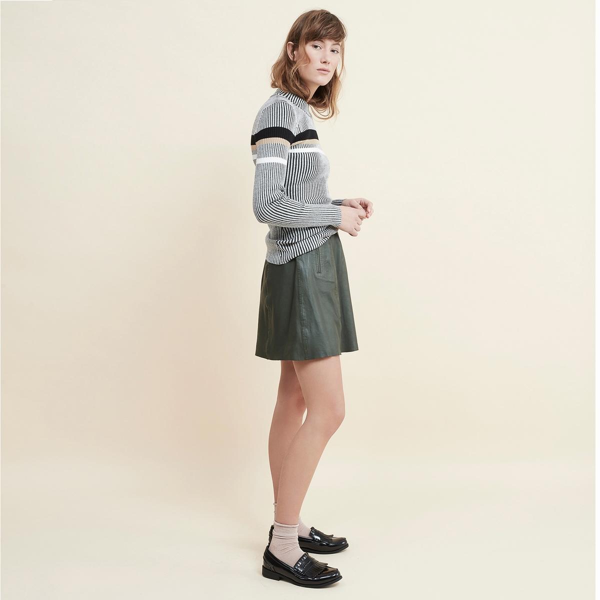 купить Пуловер в полоску дешево