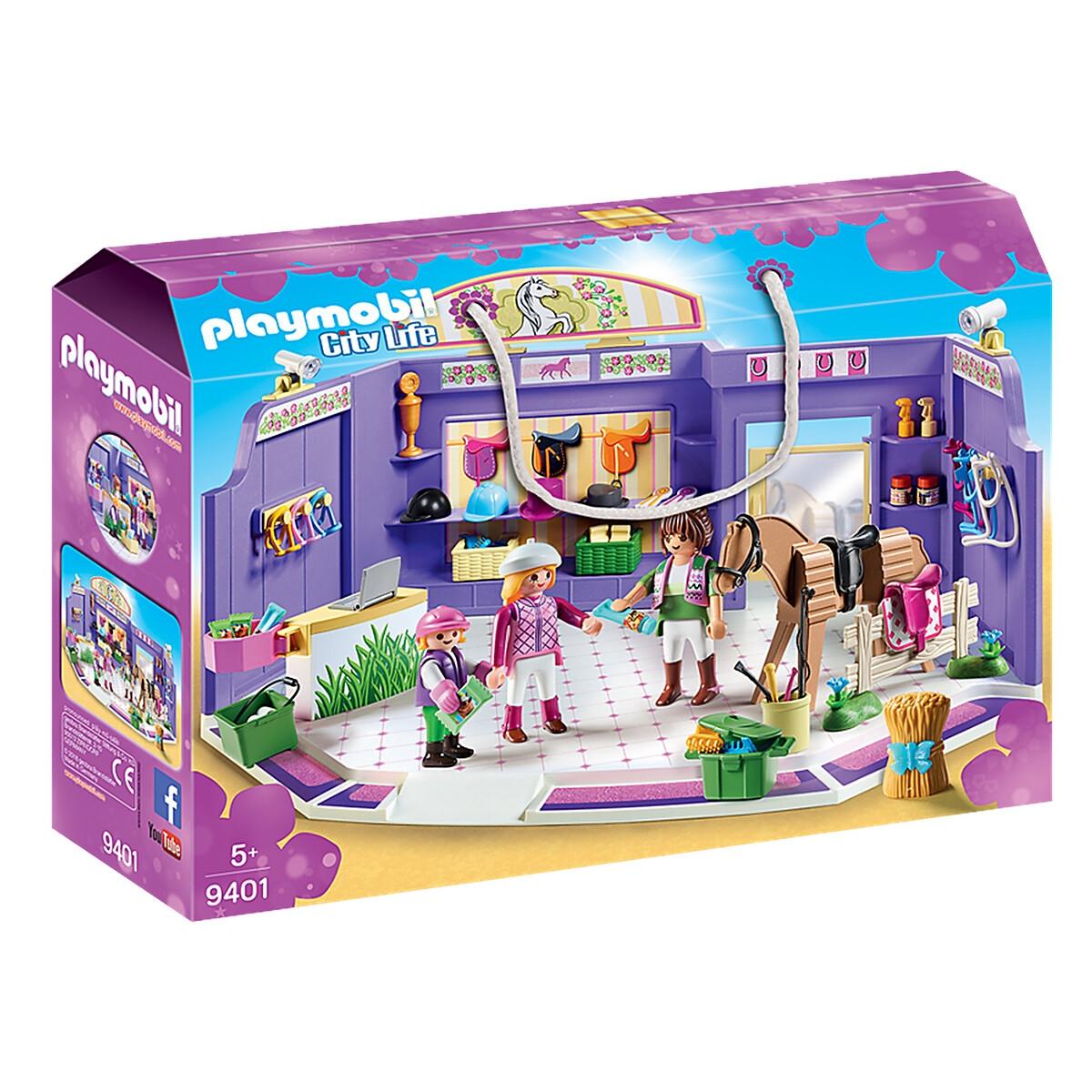 An image of Playmobil Horse Riding Shop, 9401