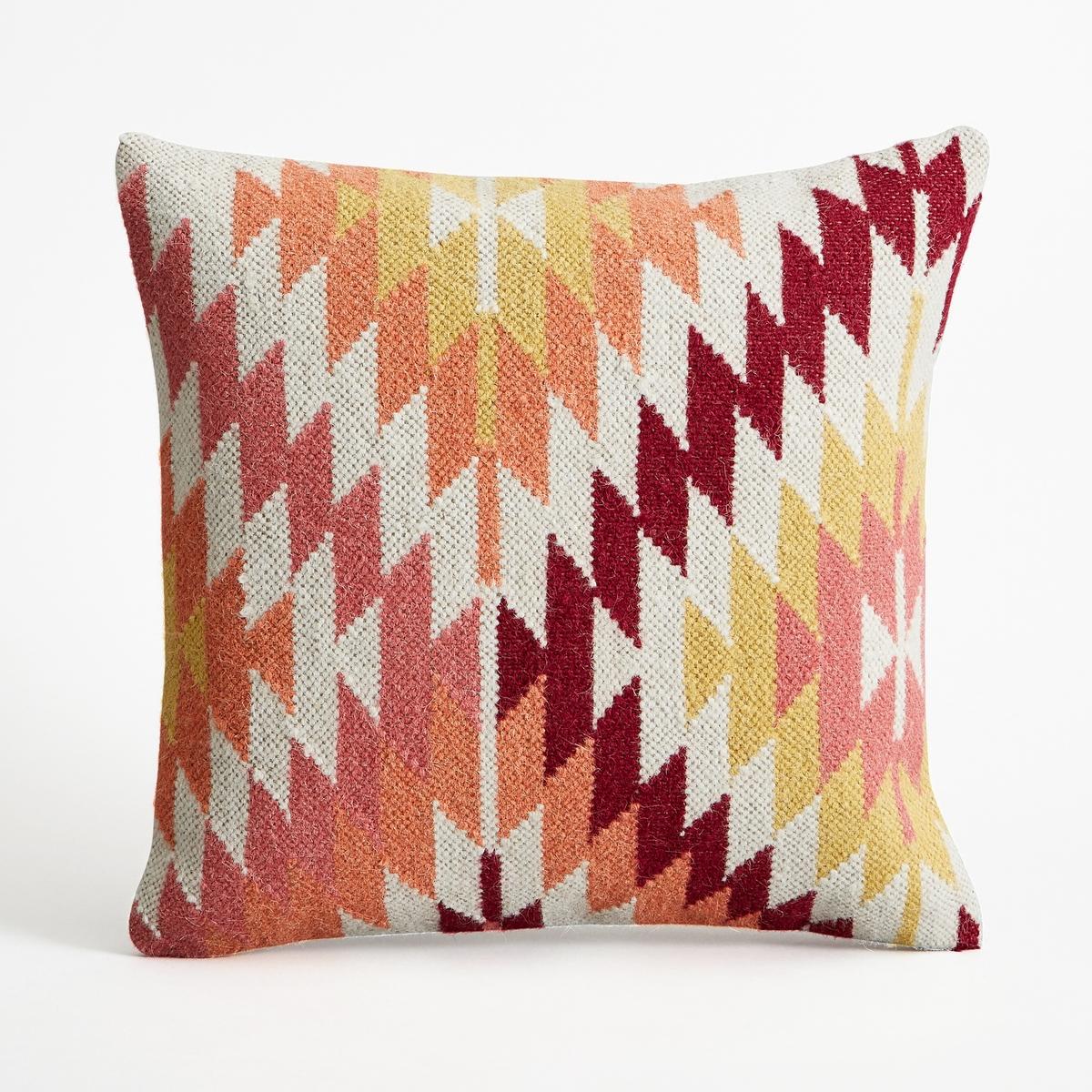 Наволочка на подушку-валик Pukeiti<br><br>Цвет: разноцветный<br>Размер: 45 x 45  см