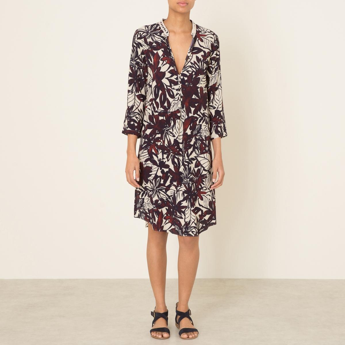 Платье ROANAСостав и описание Материал : 100% вискозаДлина : ок. 102 см. для размера 36Марка : DIEGA<br><br>Цвет: набивной рисунок