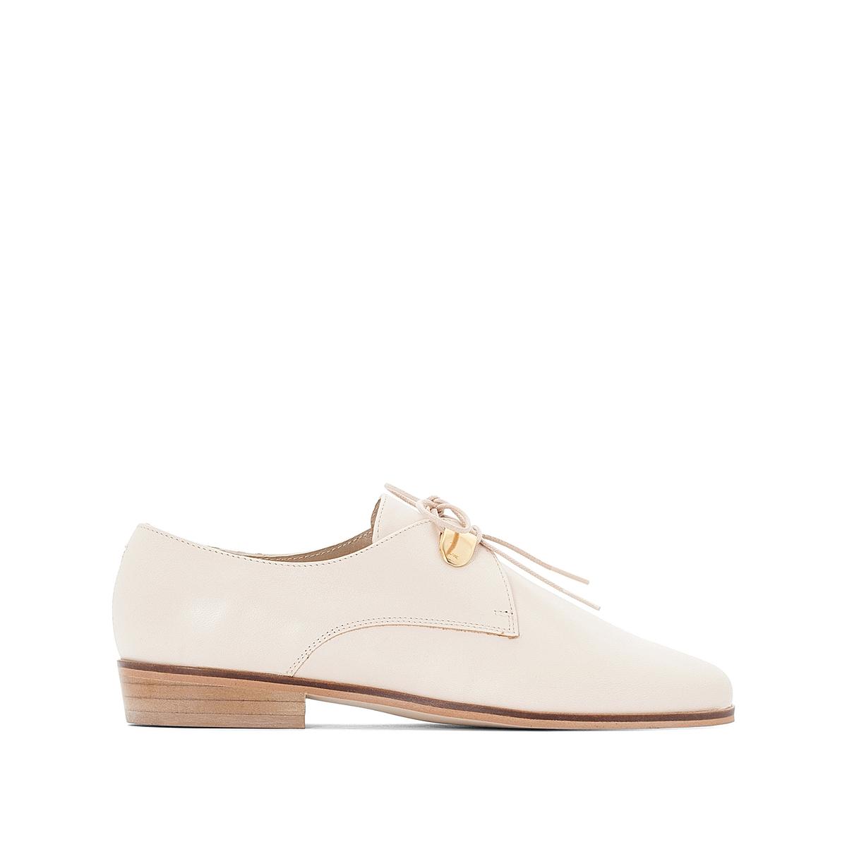 Ботинки-дерби кожаные на шнуровке, Divya ботинки женские зимние на шнуровке без каблука купить