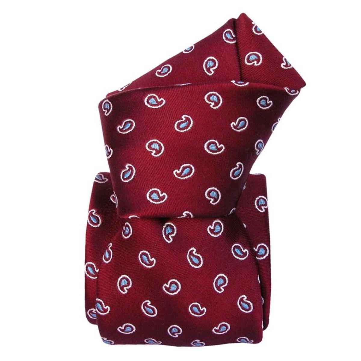 Cravate Mogador Capri. Mogador Paisley