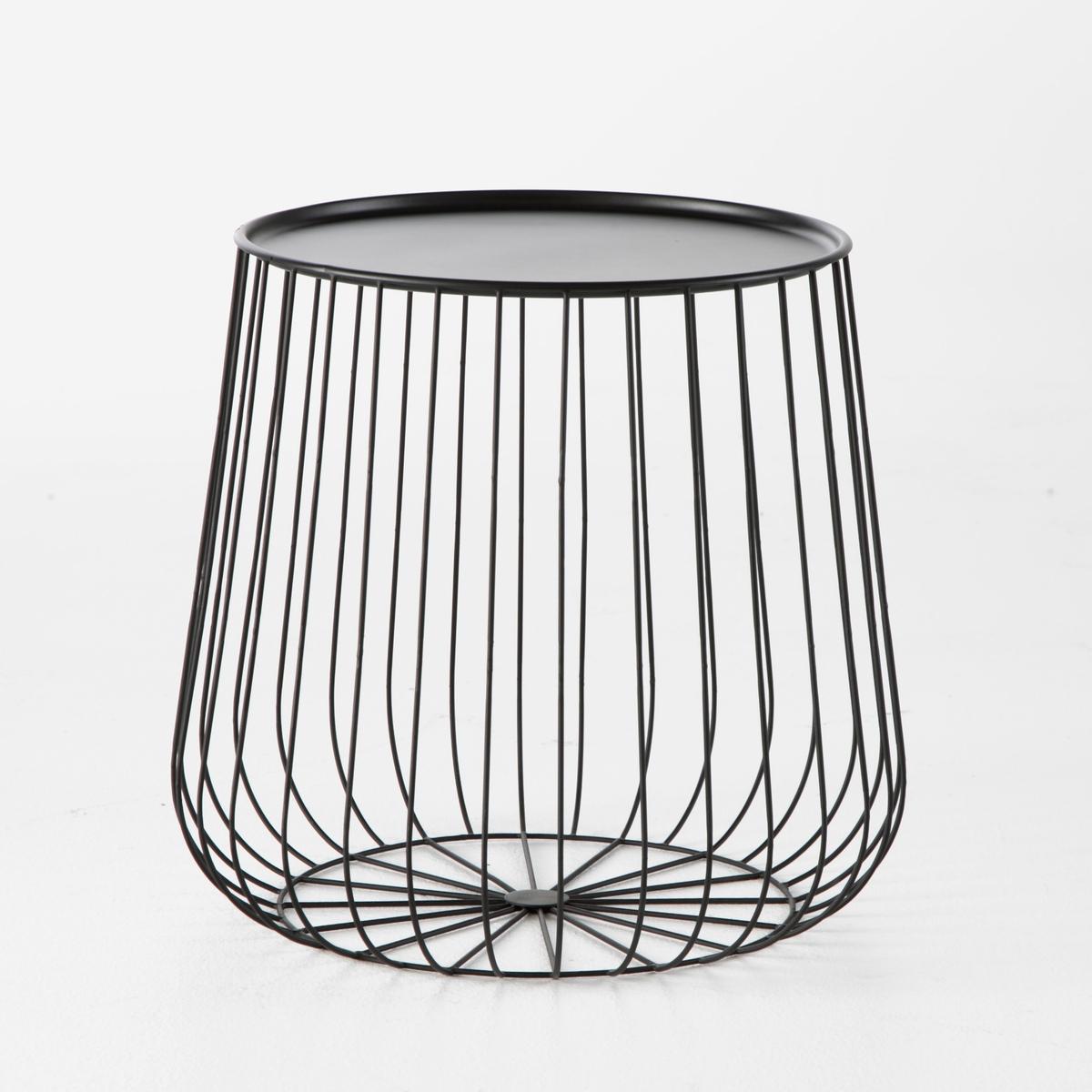Столик из металлической проволоки , Cage от La Redoute