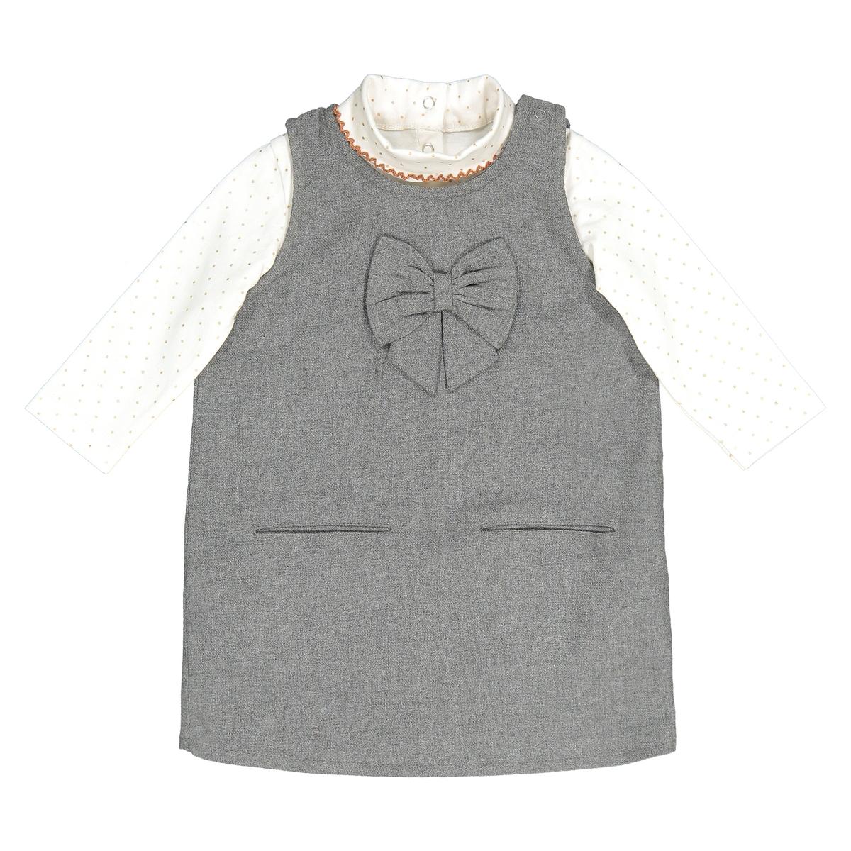 Комплект из платья и футболки, 1 мес. - 3 года велосипед stark vesta 26 1 s 2018
