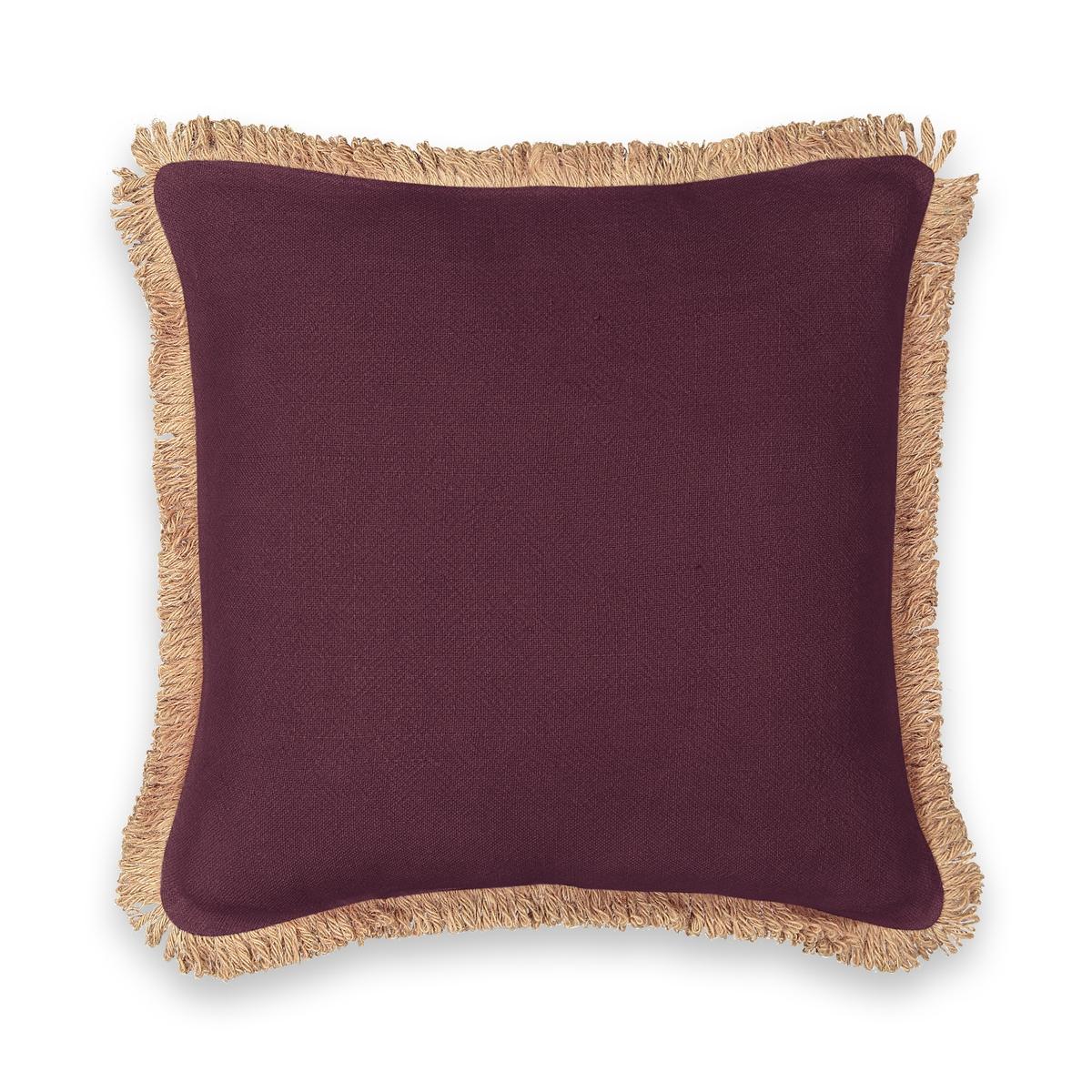 Чехол LaRedoute На подушку из джута Jutty 50 x 30 см розовый