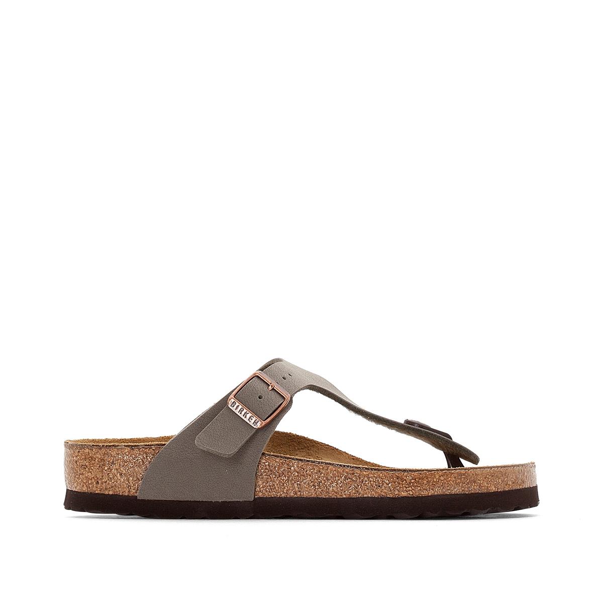 Туфли без задника GIZEHВерх : синтетический материал (Birko-Flor)           Подкладка : фетр         Стелька : велюровая кожа         Подошва : ЭВА         Застежка : без застежки<br><br>Цвет: серо-коричневый
