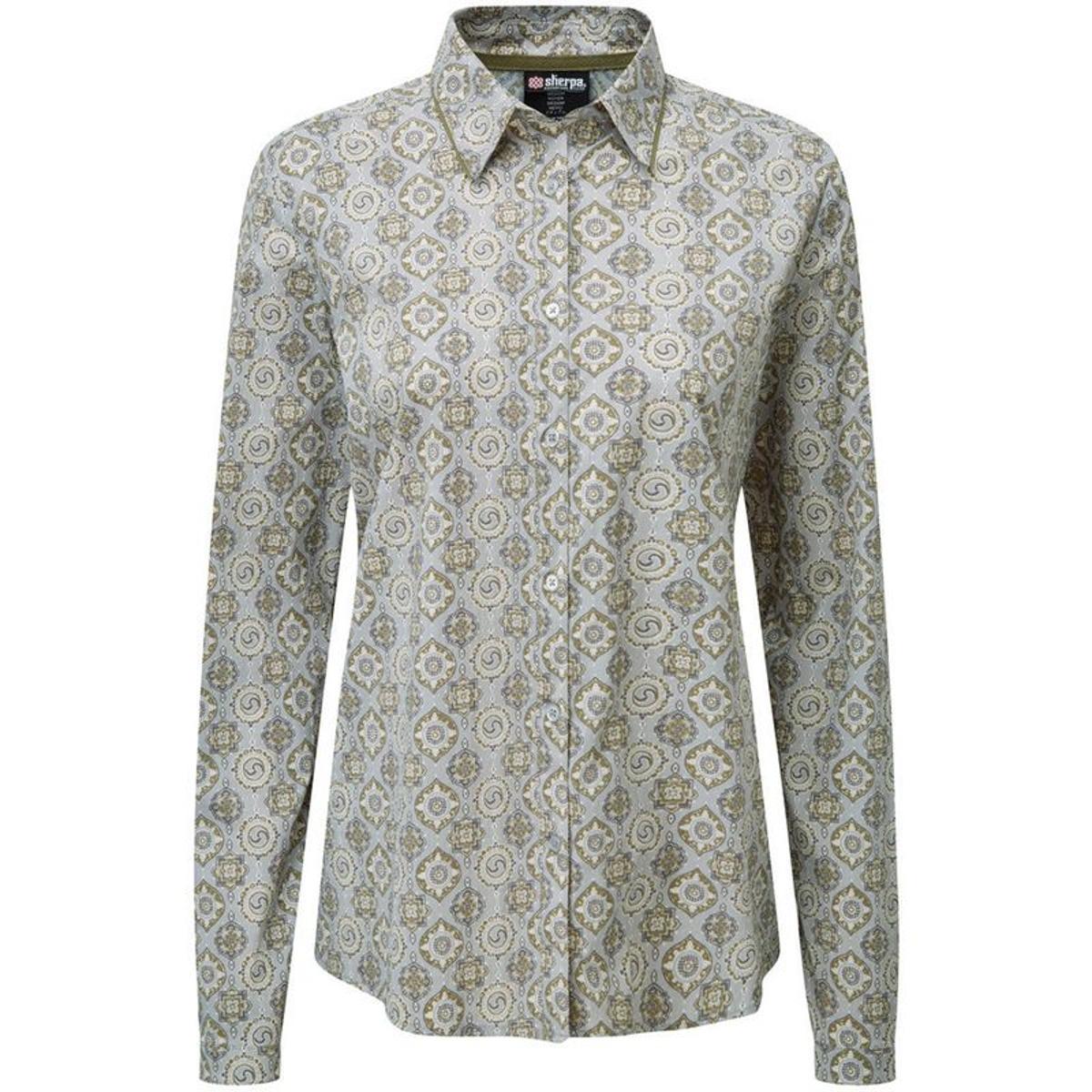 Chakra - T-shirt manches longues Femme - gris