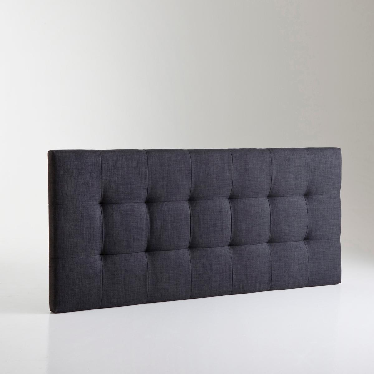 Изголовье LaRedoute Кровати с обивкой в современном стиле Numa 140 см серый кровать laredoute numa 160 x 200 см серый