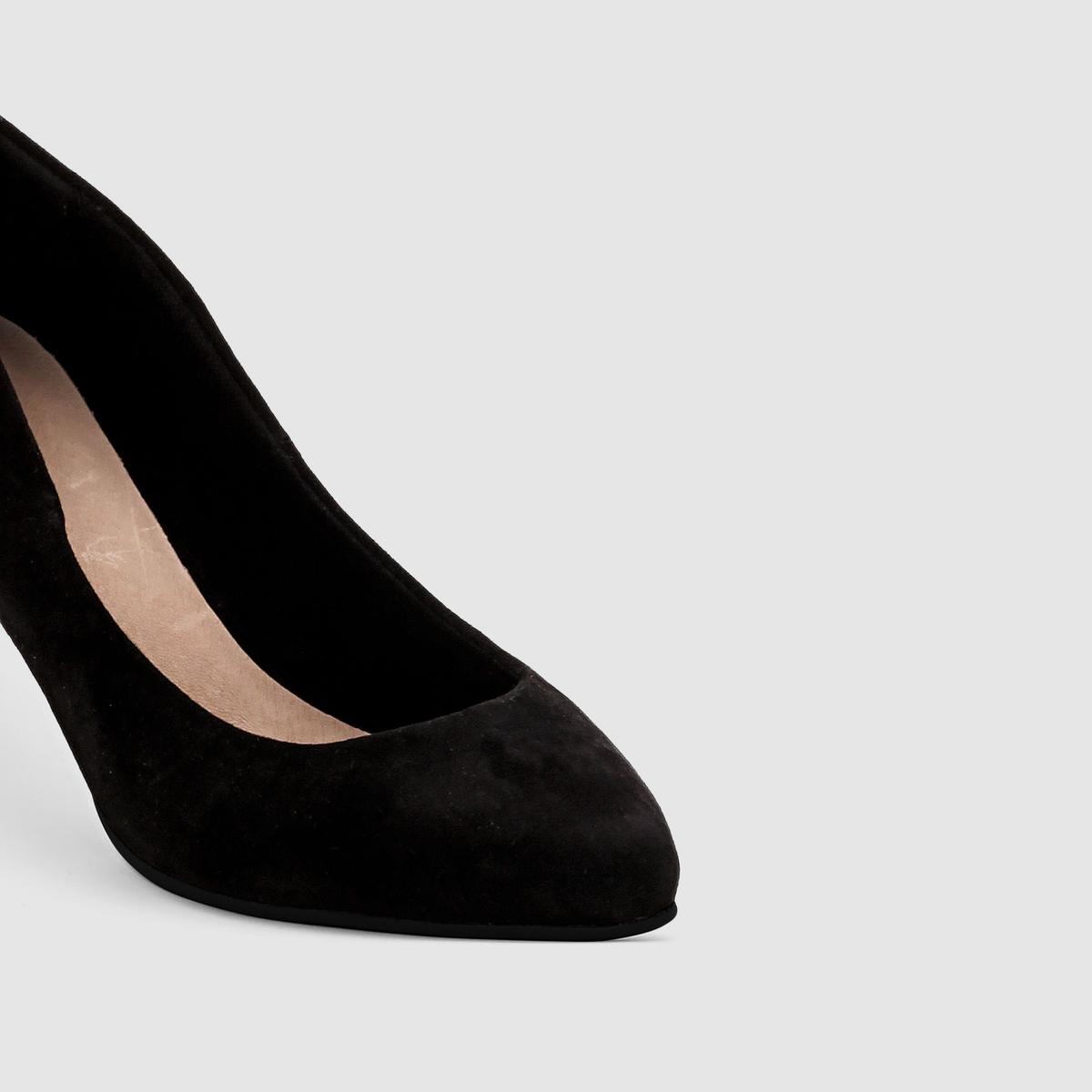 ТуфлиМарка : CASTALUNA.Модель подходит : для широкой ступни.Верх : искусственная замша.Подкладка : парусинаСтелька : кожа на пористой основе. Подошва : нескользящий эластомер.Высота каблука : 6  смПреимущества : красивые тонкие каблуки<br><br>Цвет: бежевый,синий,черный,черный/ черный<br>Размер: 39.40.41.40.42.43.45.42.44.38.40.42.45