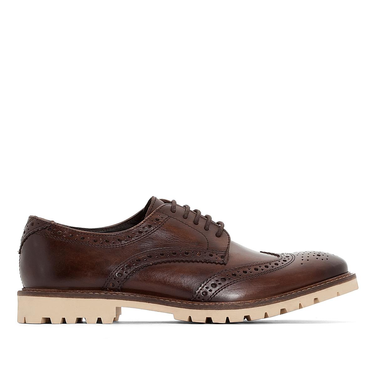Ботинки-дерби кожаные Raid