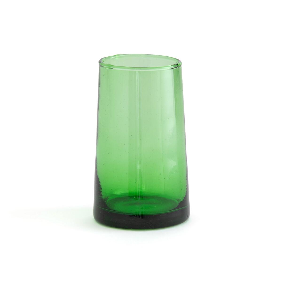 Комплект из 6 стаканов для LaRedoute Сока из дутого стекла Gimani единый размер зеленый графин laredoute из дутого стекла calebasse единый размер другие