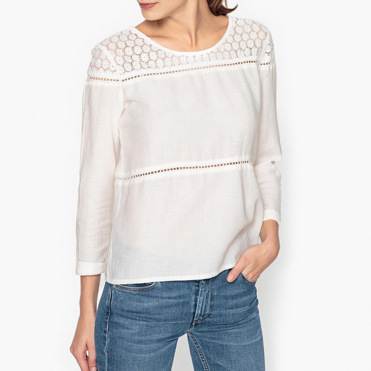 Блузка с кружевом CAPRI рубашка harris wilson harris wilson ha019emqpi73