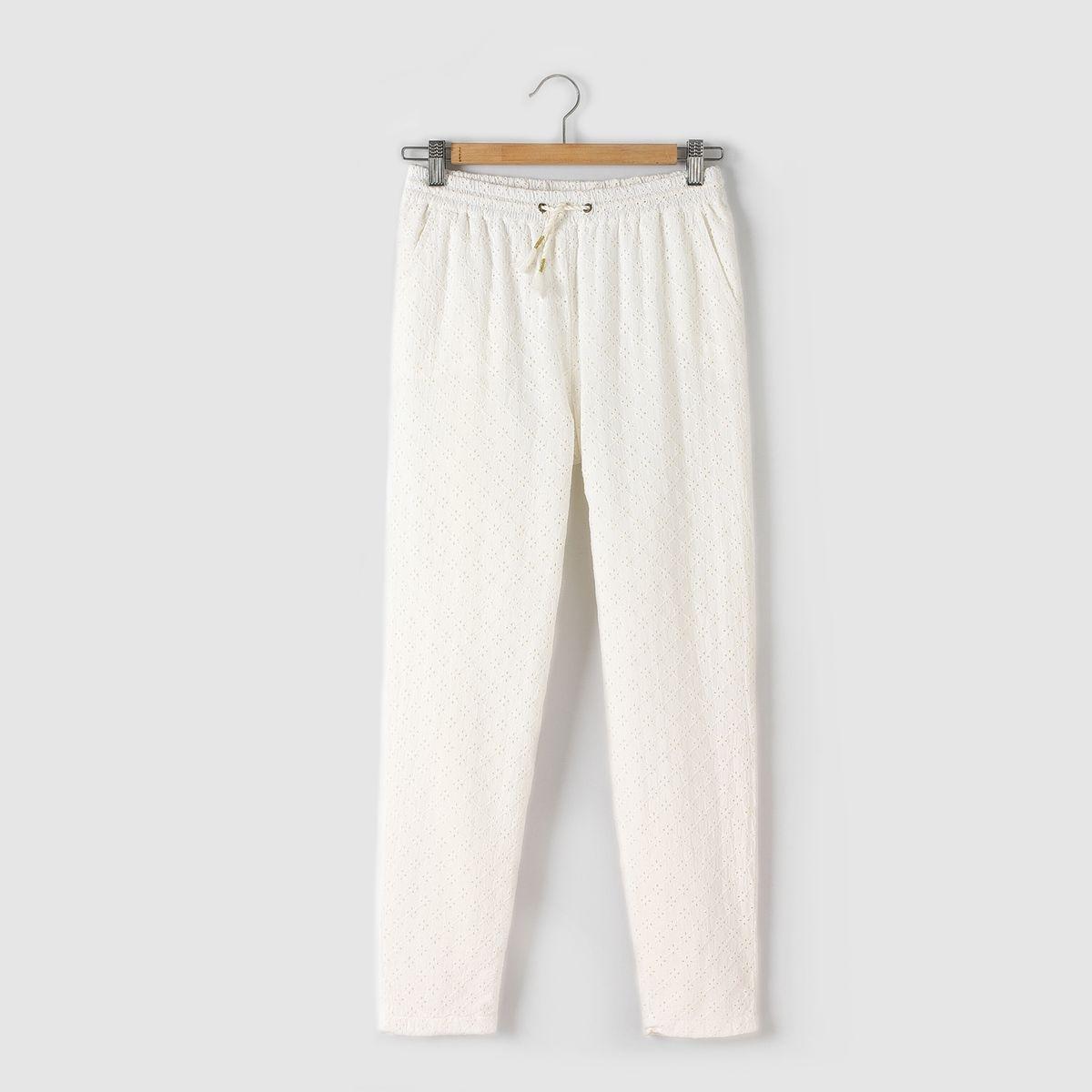 Pantalon broderie anglaise 10-16 ans