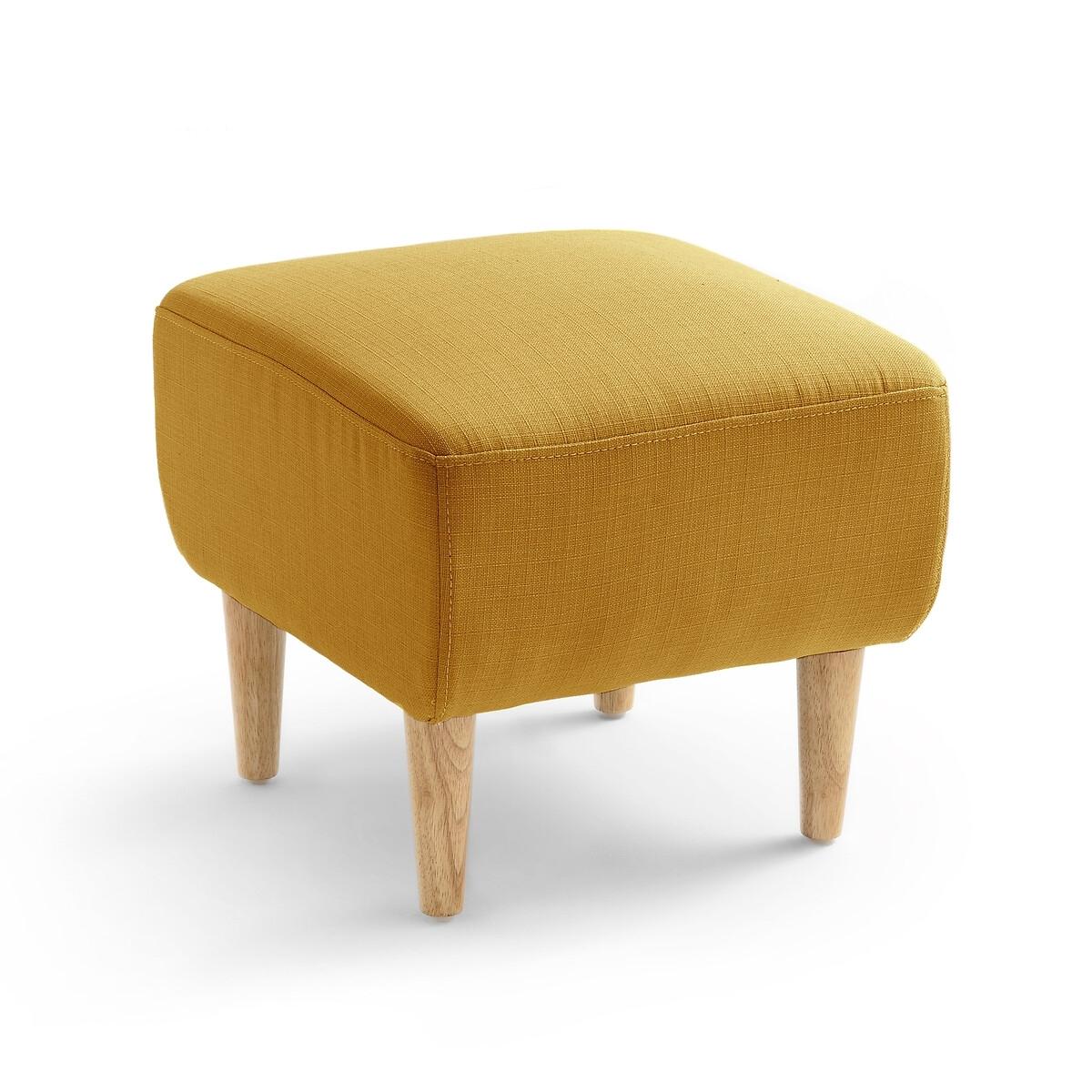 Подставка LaRedoute Для ног Jimi единый размер желтый
