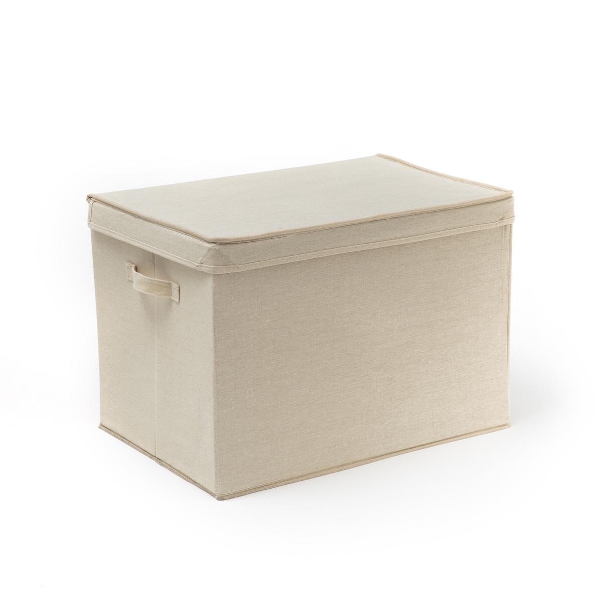 Коробка La Redoute Из льна размер M ORFA единый размер бежевый наволочка la redoute flooch 50 x 30 см бежевый