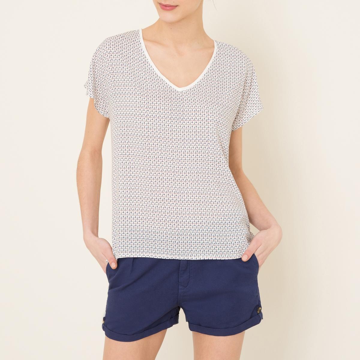 Футболка льняная рубашка harris wilson harris wilson ha019emqpi73