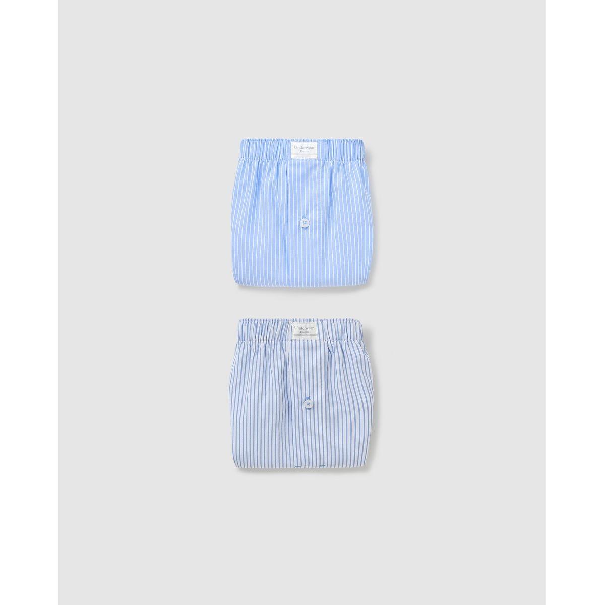 Lot deux boxers en tissu s