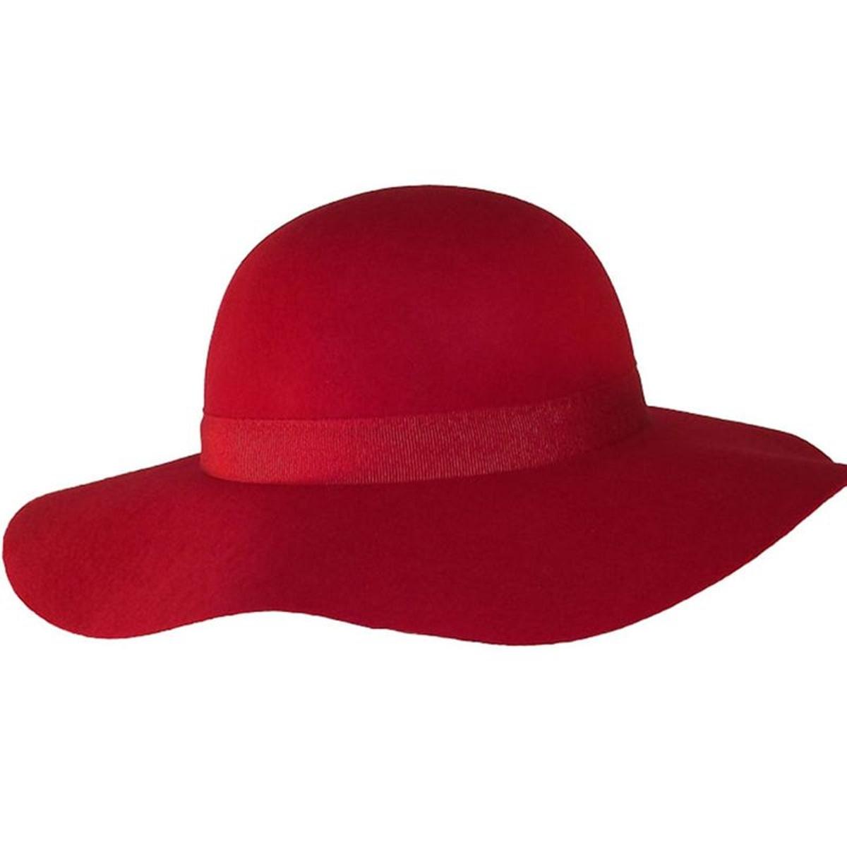 Chapeau capeline laine