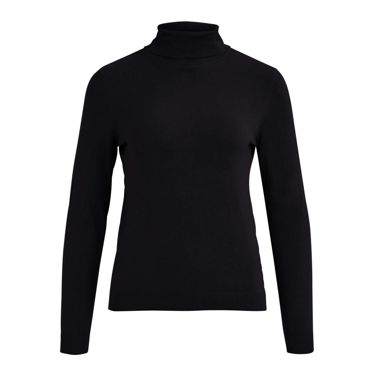 Пуловер-водолазка La Redoute La Redoute M черный шорты la redoute la redoute m синий