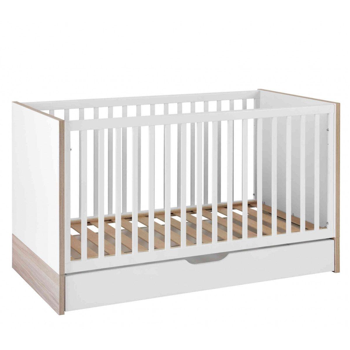 Lit bébé évolutif Lilo 70x140   tiroir de lit - Galipette