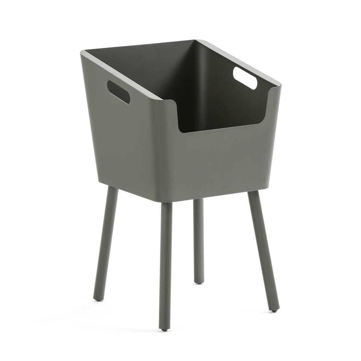 Столик LaRedoute Прикроватный из металла Monbefi единый размер зеленый