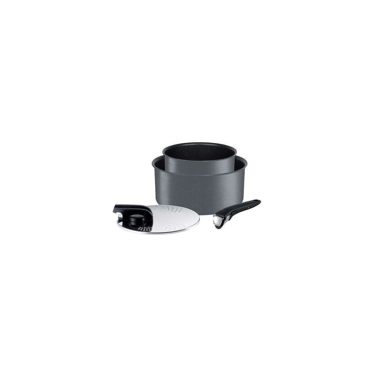 Batterie de cuisine TEFAL casseroles Ingenio Performance 4p gris