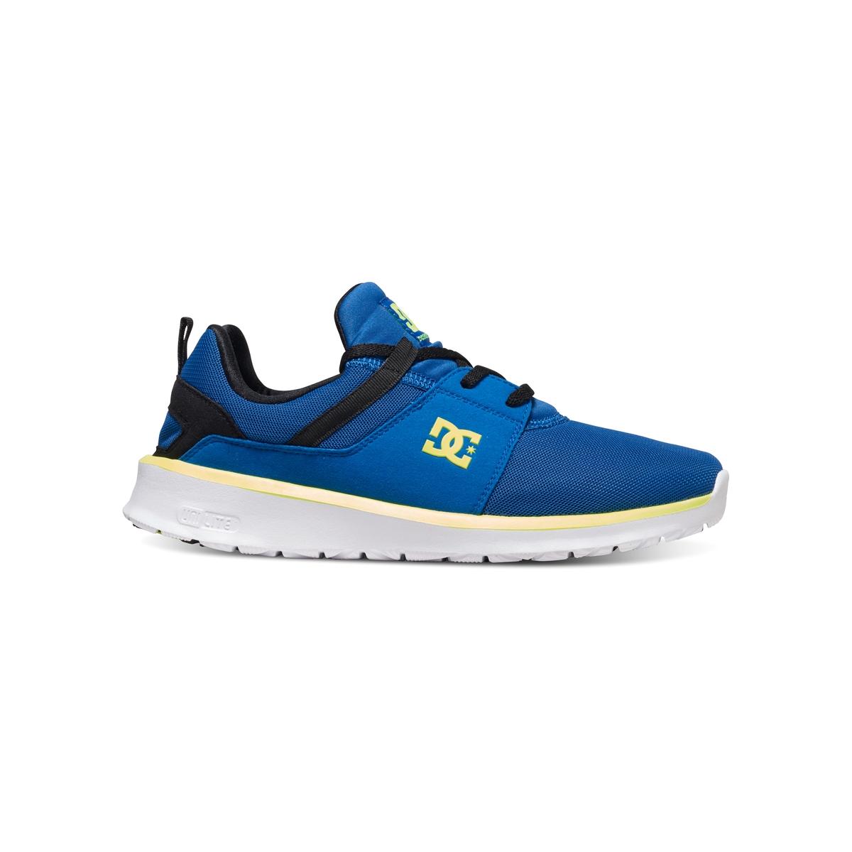Кеды низкие DC SHOES HEATHROW M SHOE XBKYКеды низкие на шнуровке, HEATHROW M SHOE XBKY от DC SHOES.Верх: текстиль Подкладка: текстильСтелька: текстиль Подошва : каучук Застежка : шнуровка Марка DC Shoes, появившаяся в 1994 году, позиционирует себя, как королева скольжения и создает стильные и технологичные коллекции для скейтборда, серфинга, сноуборда и даже для велосипедного мотокросса, мотоспорта и экстремальных видов спорта. В своих коллекциях она предлагает модную городскую обувь, невероятно легкую и как всегда с калифорнийским колоритом! Подтверждение тому - отличные кеды HEATHROW, удобные и прочные, усовершенствованные и стильные !<br><br>Цвет: синий<br>Размер: 40
