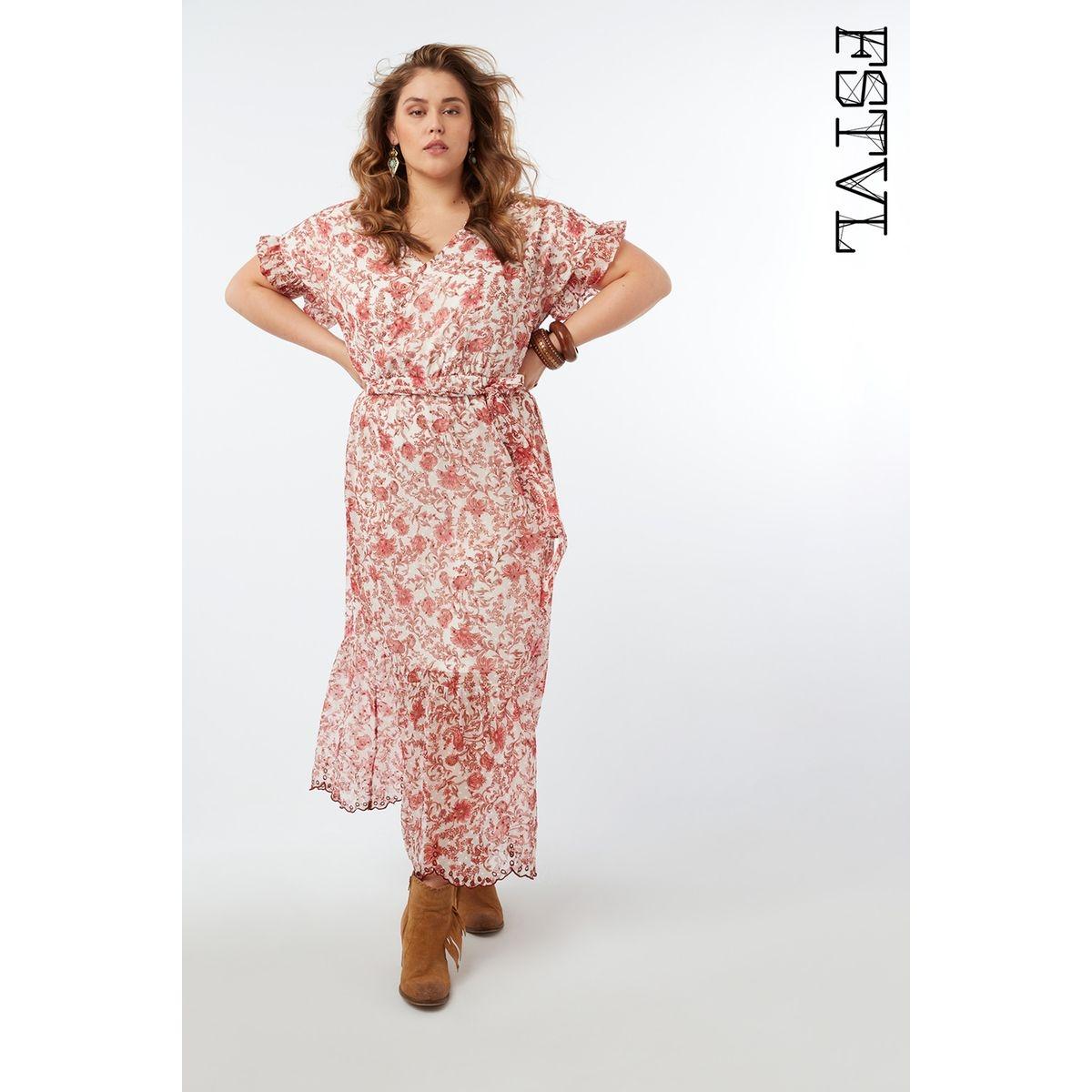Maxi robe à imprimé floral