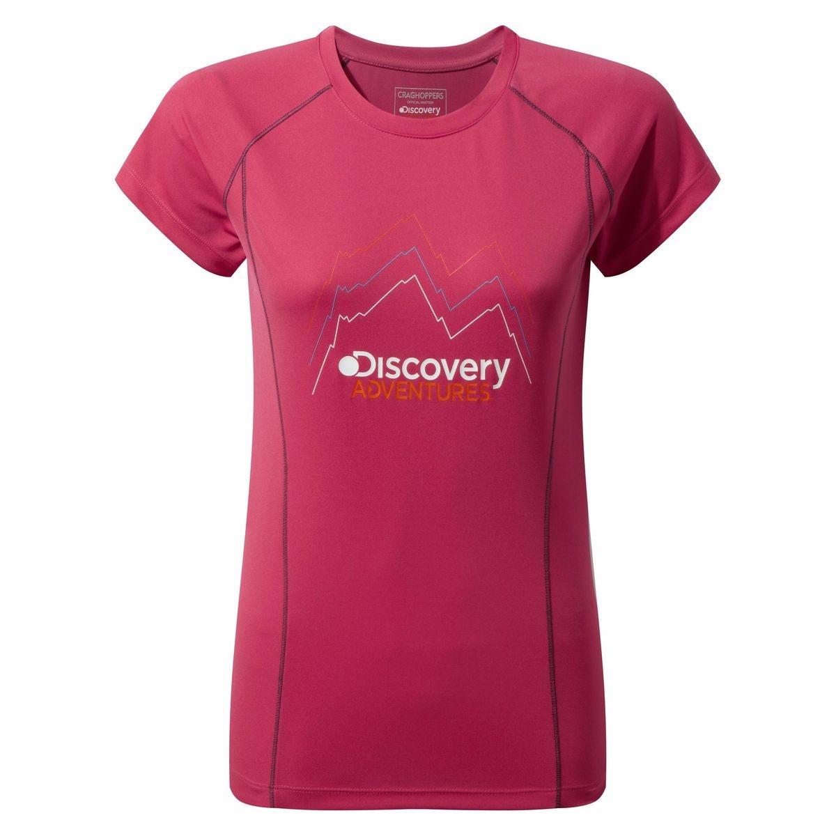 T-shirt à manches courtes DISCOVERY ADVENTURES