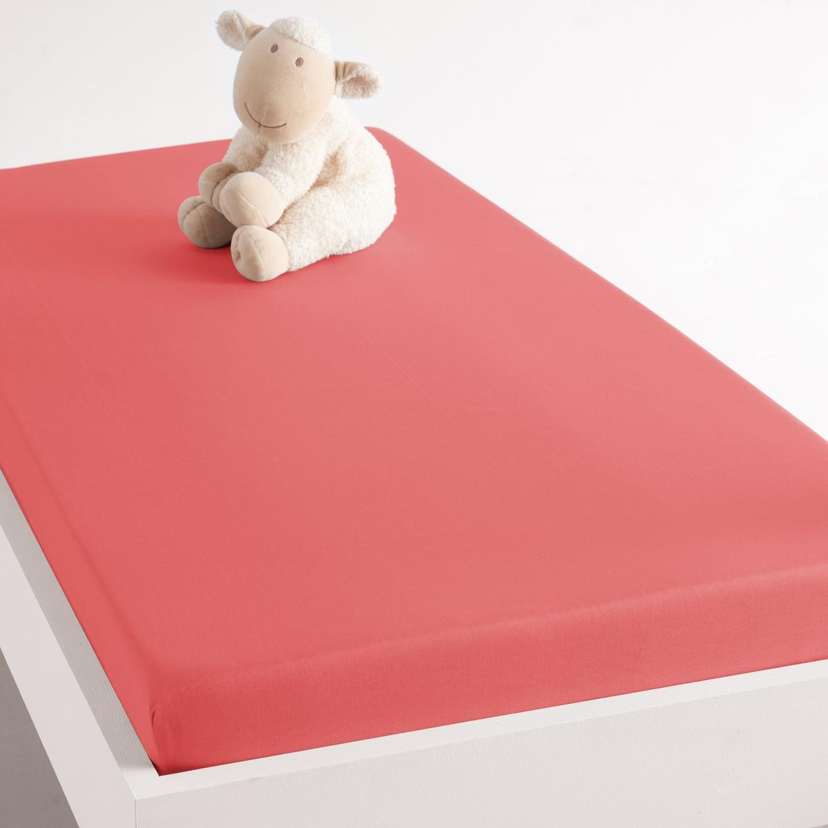 Lençol-capa para cama de bebé em algodão