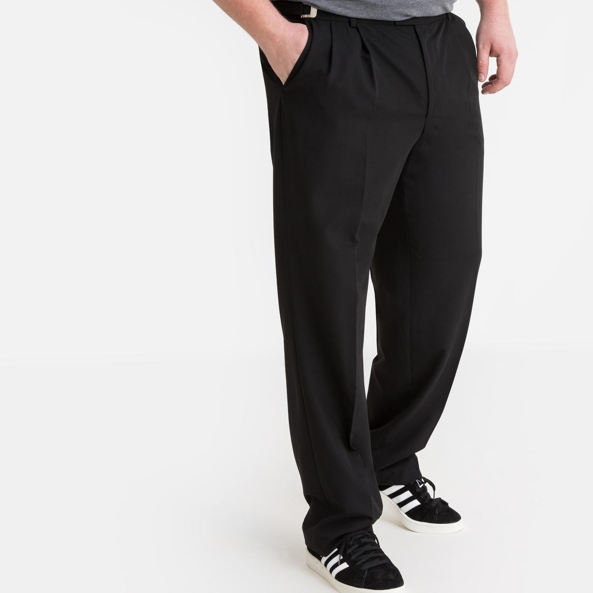Calças de fato com cintura regulável