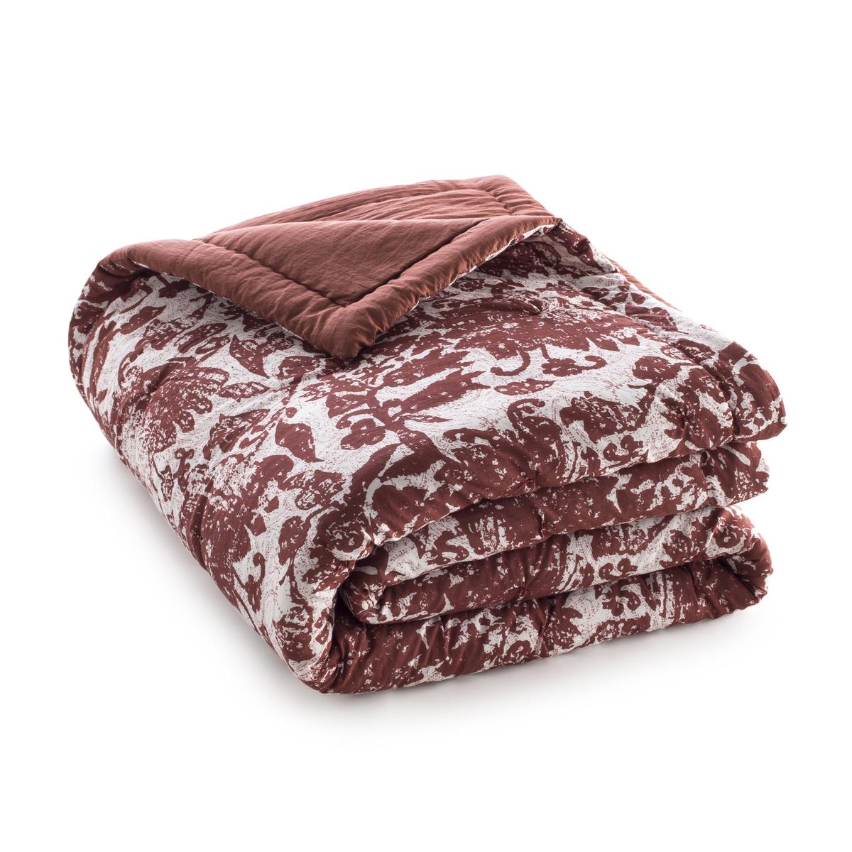 Одеяло стеганое из хлопковой вуали с рисунком колорблок одеяло luolailin 100