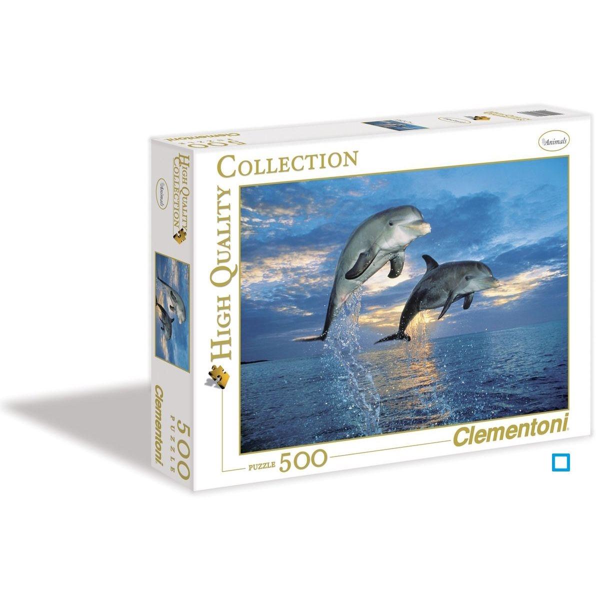 Puzzle 500 pièces - Dauphins