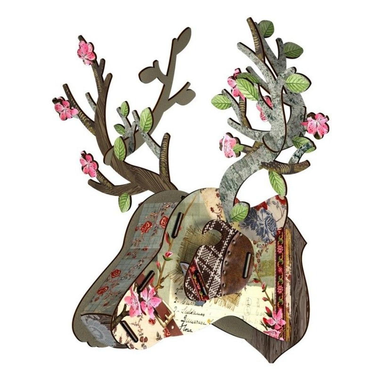 Trophée décoratif mural miniature Bonsai