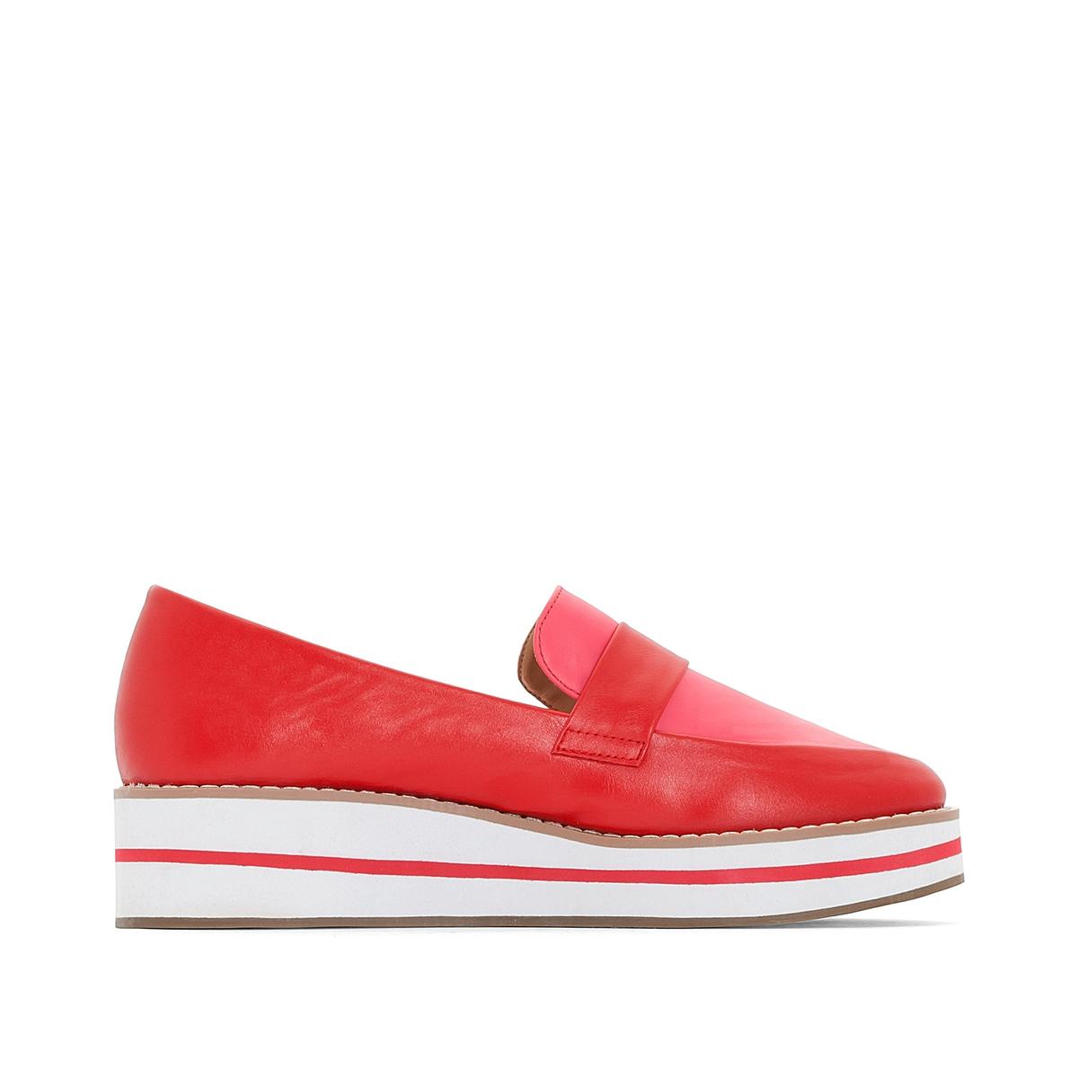 zapatillas Mocasines con plataforma, detalle de l?nea