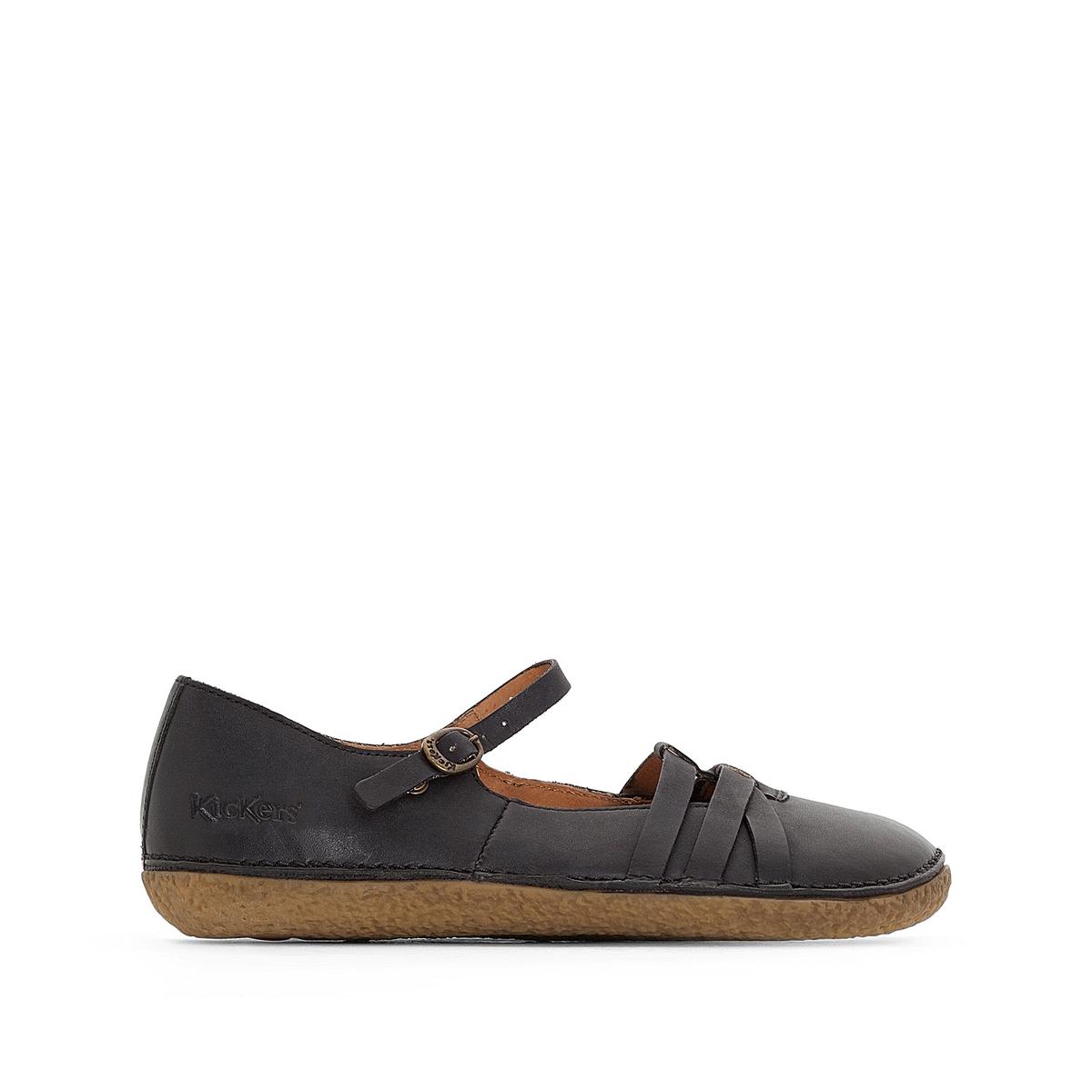 Ботинки из кожиHIBOU
