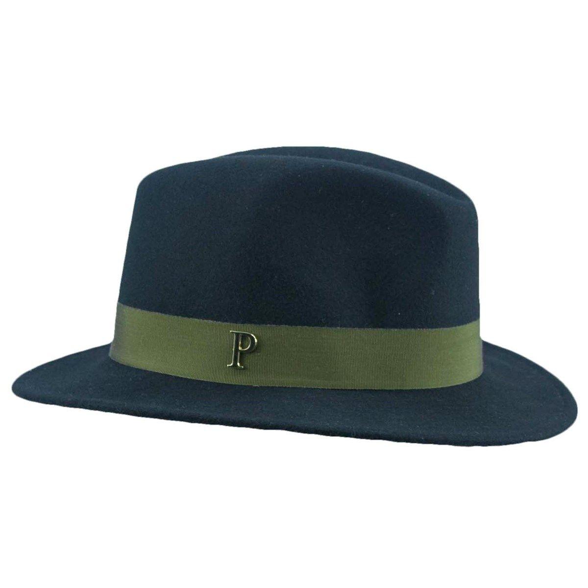 Chapeau feutre Léon ruban interchangeable