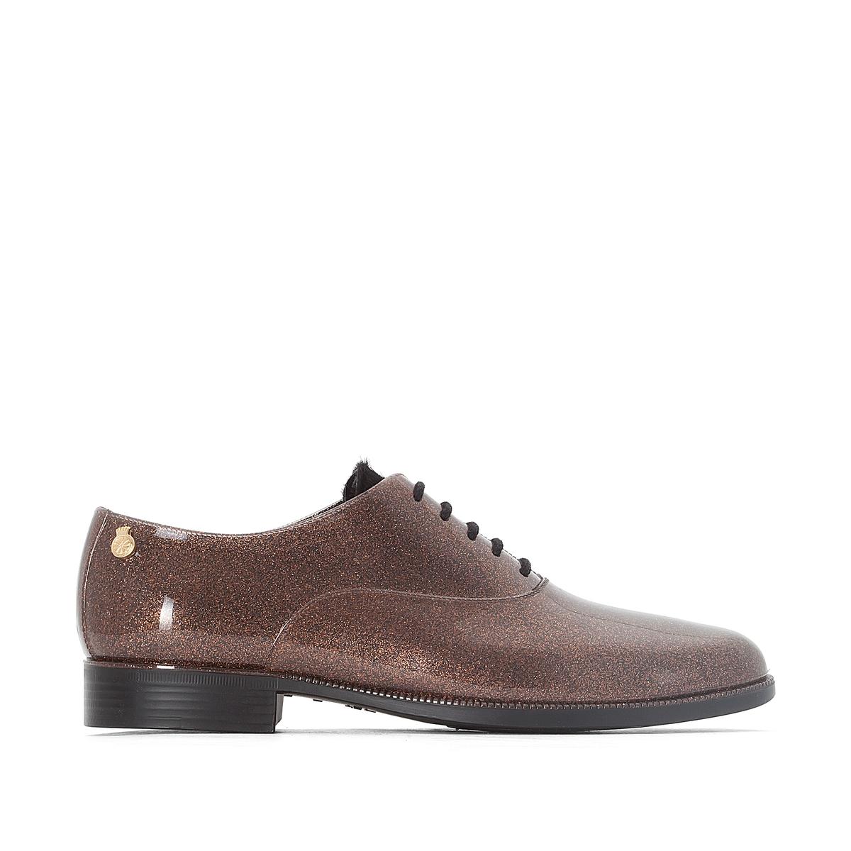 Ботинки-дерби резиновые Sparkle ботинки дерби под кожу питона