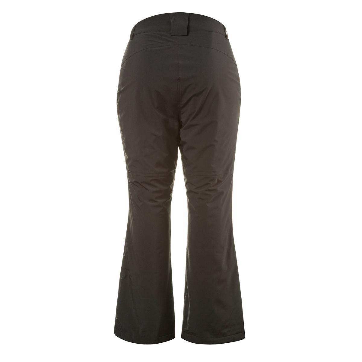 Брюки лыжныеФункциональные теплые брюки, адаптированные для лыжных ботинок. Теплый ватин, подкладка из мягкого флиса, три функции : защита от ветра, непромокаемые, дышащие. Проклеенные швы. Прямой покрой, снегозащитные гетры внизу брючин. 2 кармана с застежкой на молнию. Пояс со шлевками, немного выше сзади, застежка на кнопку и молнию.<br><br>Цвет: черный<br>Размер: 44 (FR) - 50 (RUS).48 (FR) - 54 (RUS)