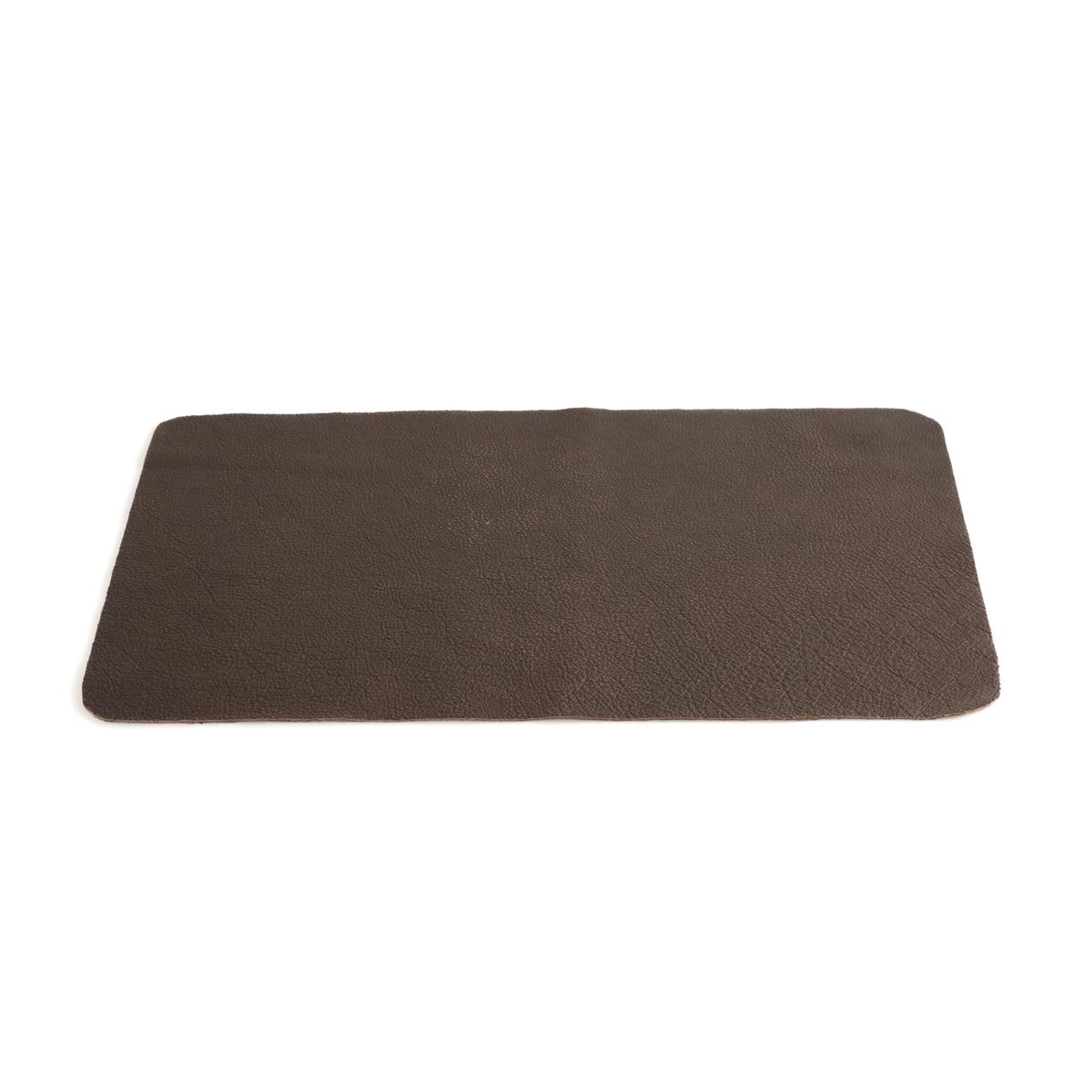 цена на Комплект из подложек под La Redoute Столовые приборы из кожи Achim единый размер каштановый