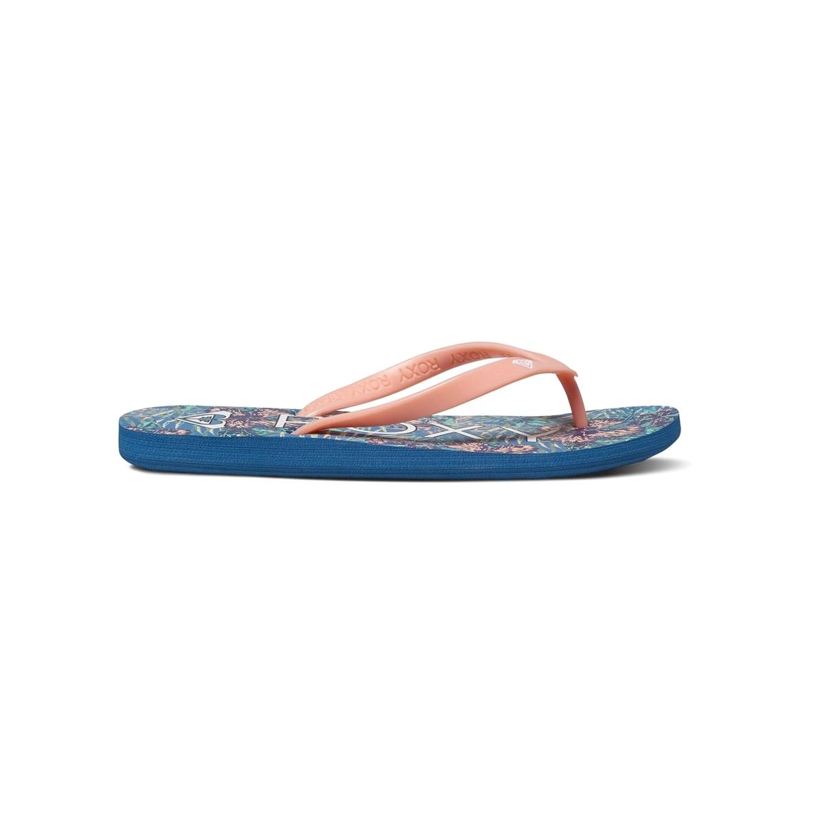 Вьетнамки TahitiВерх : синтетика   Подошва : каучук   Форма каблука : плоский каблук   Мысок : открытый мысок   Застежка : без застежки<br><br>Цвет: синий/ розовый<br>Размер: 38