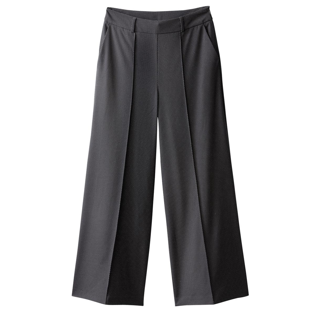 Pantalón ancho de talle alto