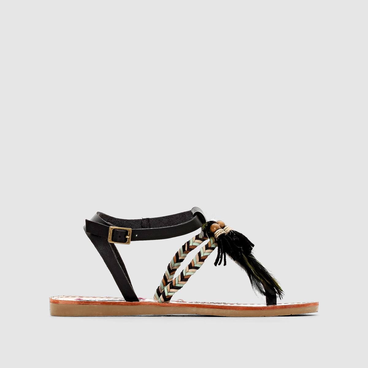 Сандалии с перемычкой между пальцами, на плоском каблуке, MELROSE цены онлайн