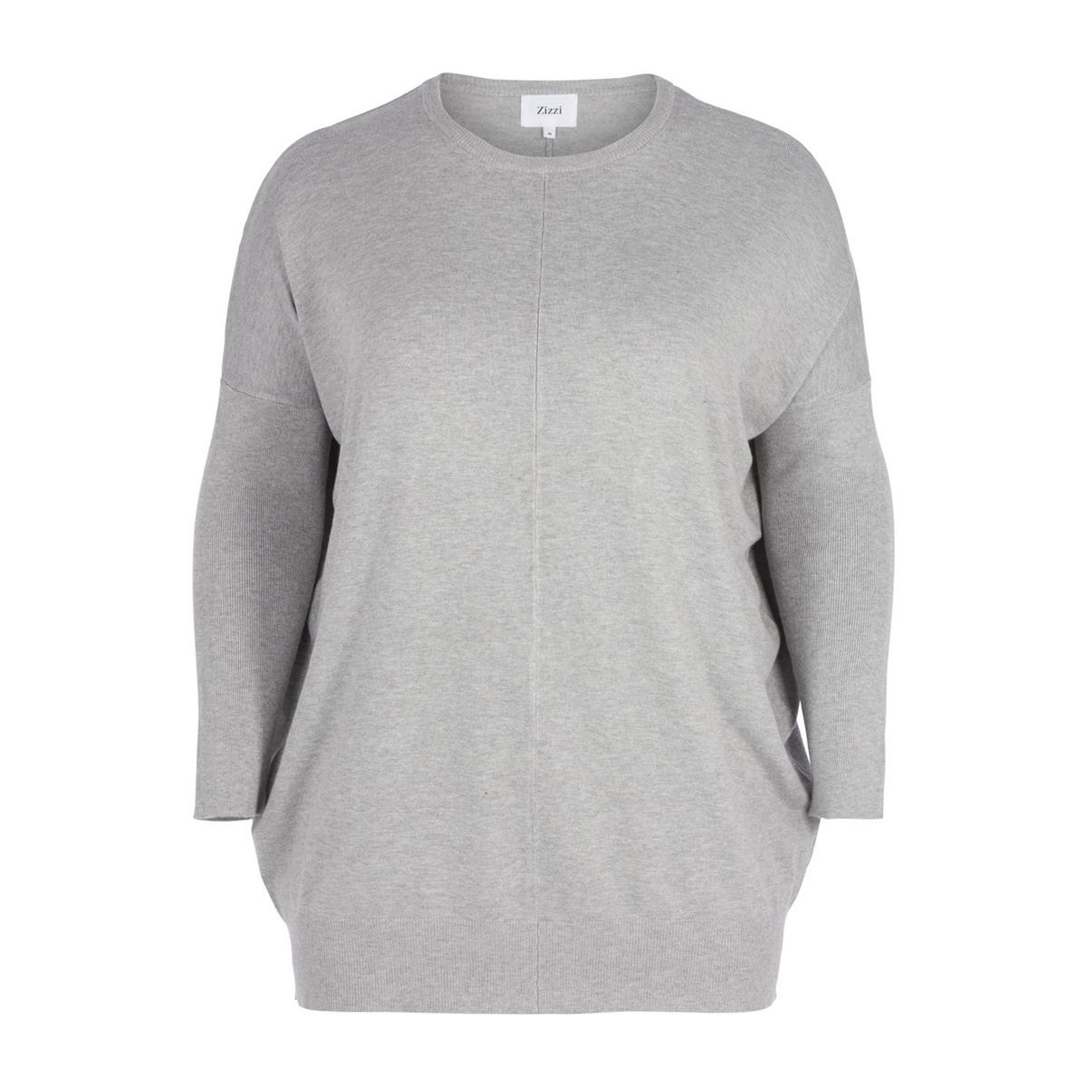 Пуловер La Redoute С круглым вырезом из тонкого трикотажа L серый пуловер la redoute с круглым вырезом из тонкого трикотажа l красный