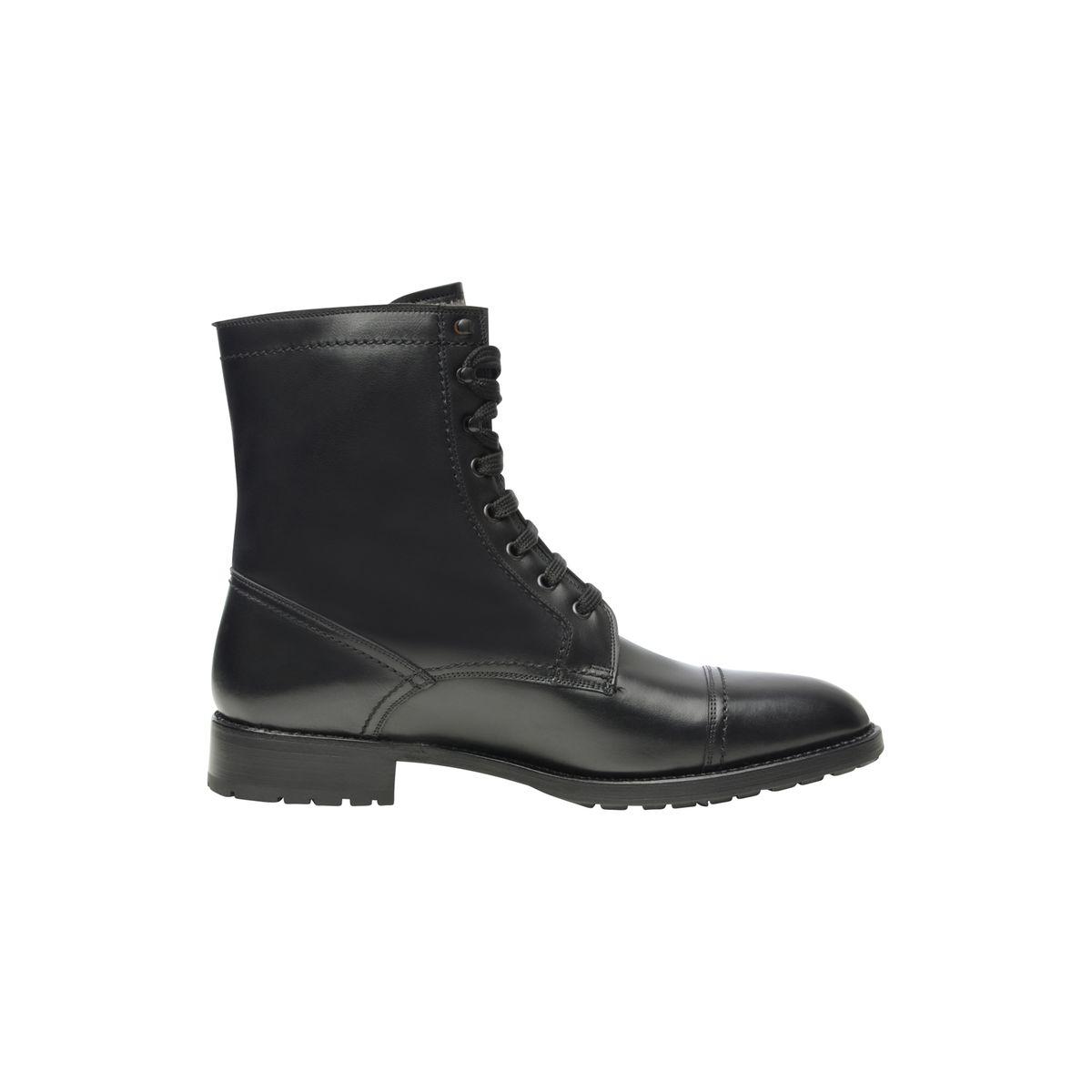 Boots captoe en bicolore