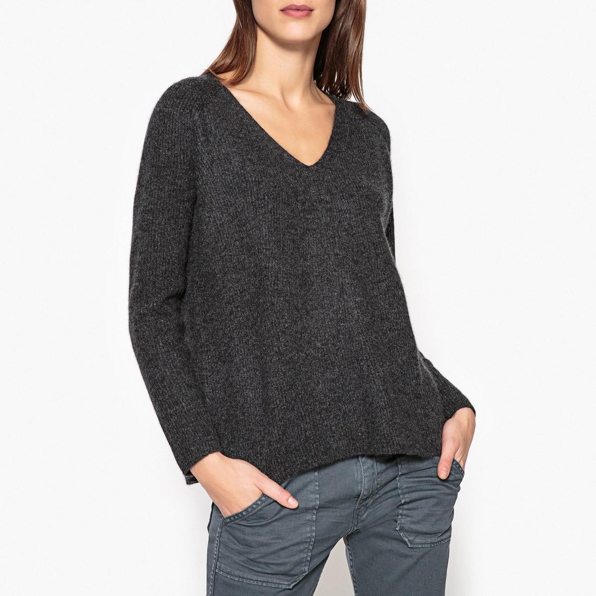 Пуловер из кашемира с V-образным вырезом PAT