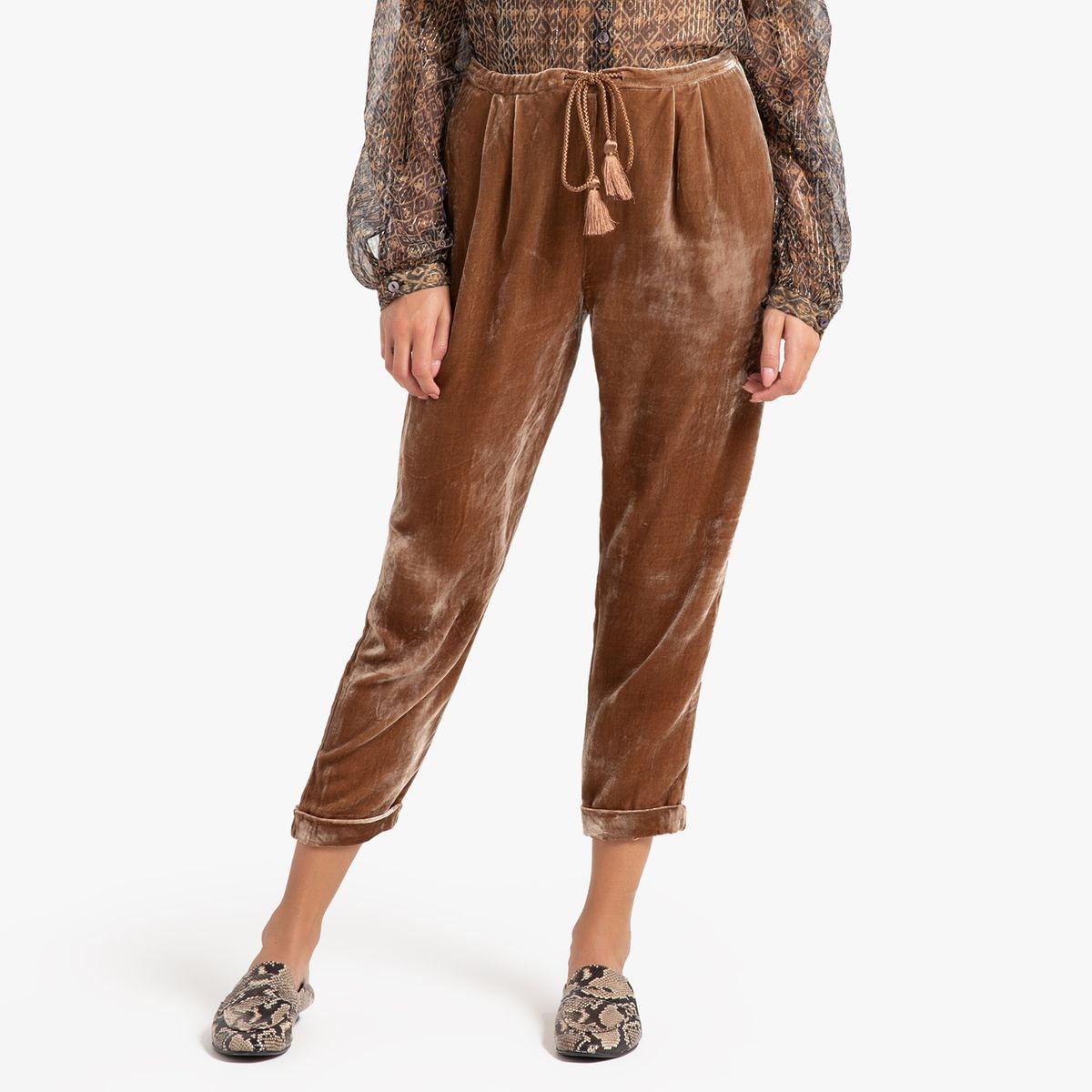 Pantalon en velours imprimé SPAY