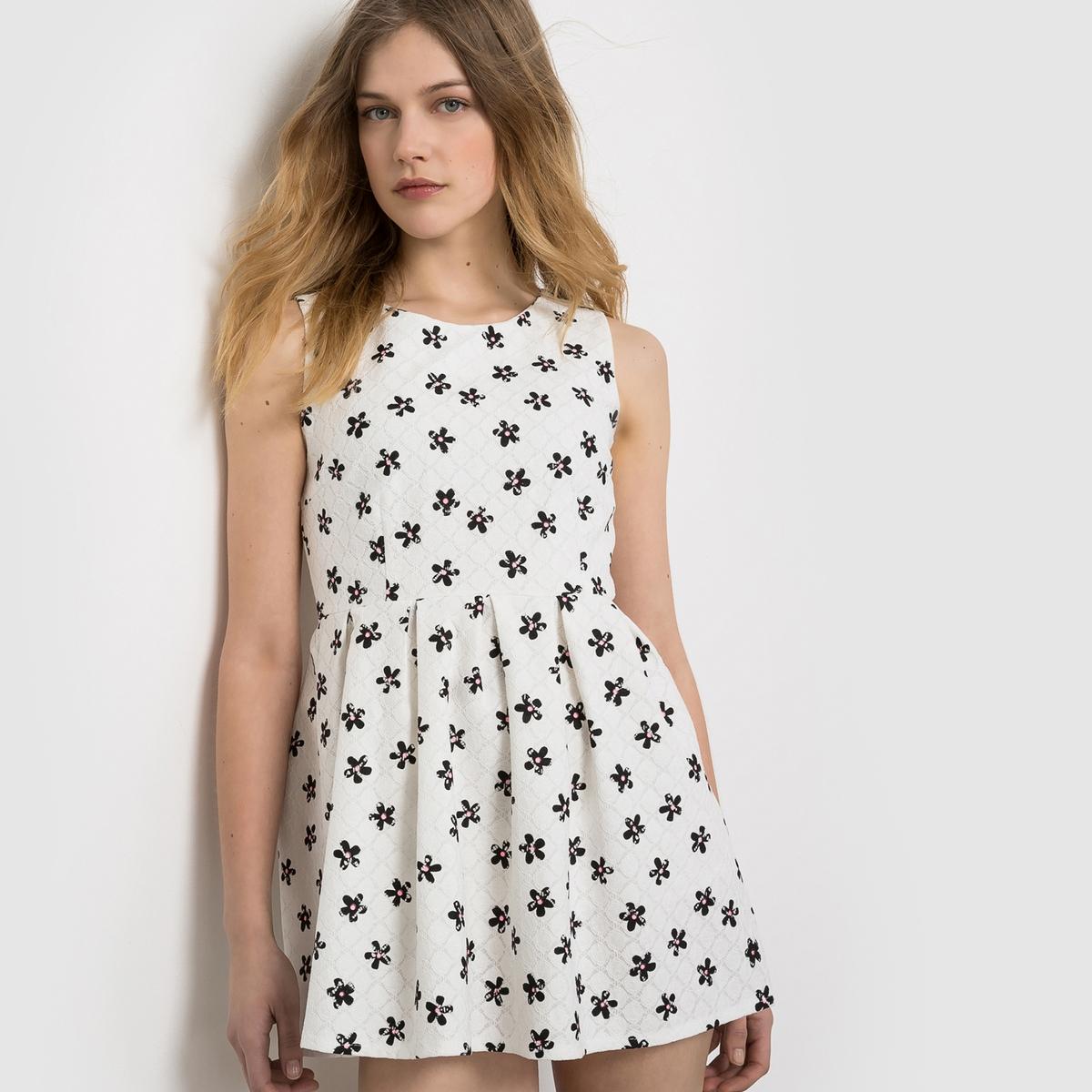 где купить Платье с короткими рукавами по лучшей цене